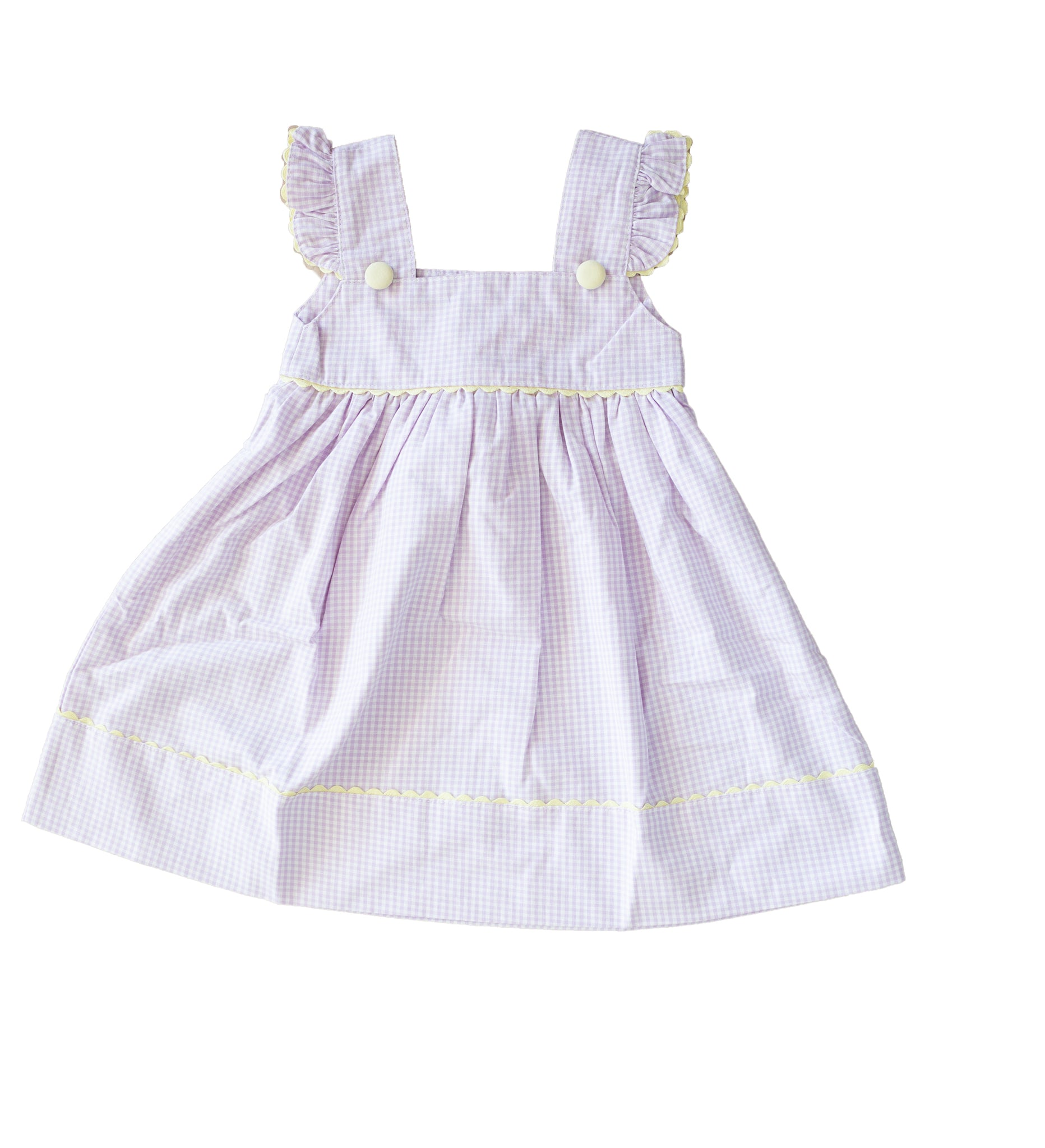 Lavender Stripe Play Dress - Amy Berry Home