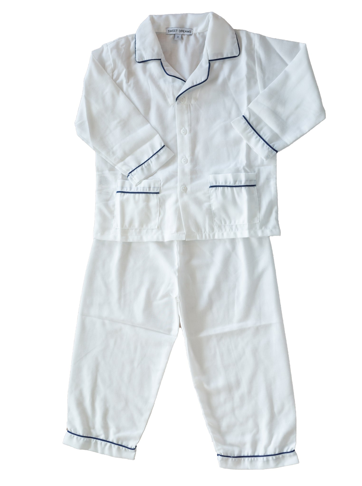 Classic Piped Boy's Pajamas - Amy Berry Home