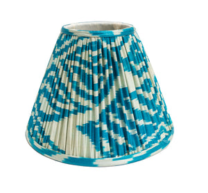 Teal Ikat Lampshade - Amy Berry Home
