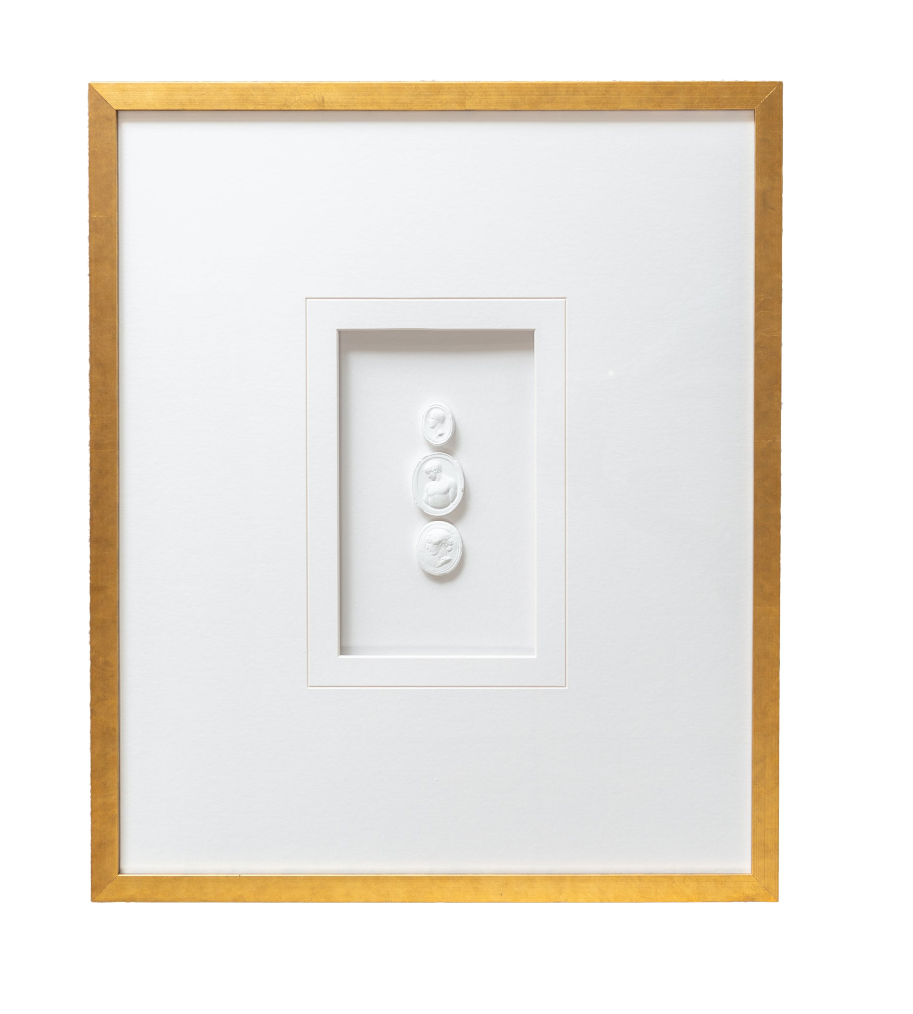 Framed Triple Intaglios - Amy Berry Home