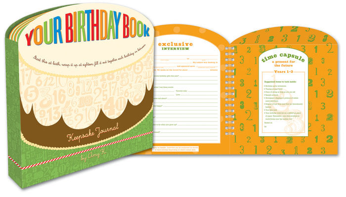 Your Birthday Book - Amy Berry Home