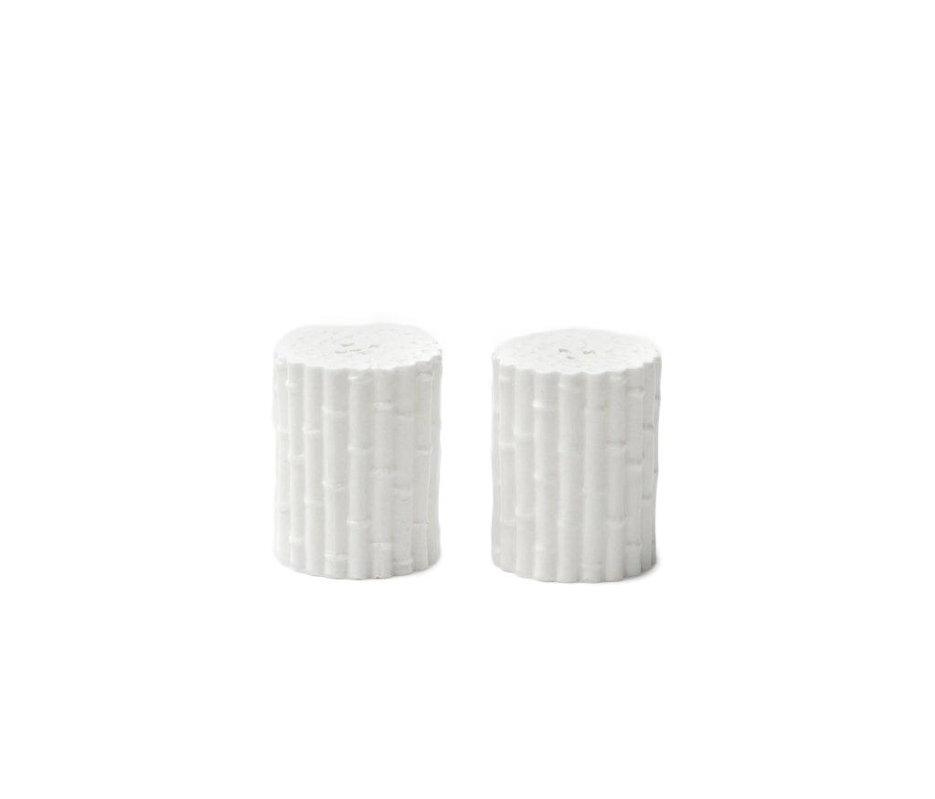 Daphne White Salt and Pepper Shakers - Amy Berry Home