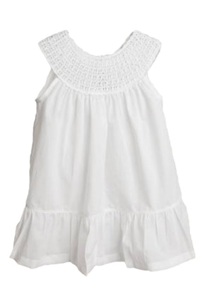 Crochet White Dress - Amy Berry Home