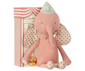 Circus Friends Elephant with Hat-Rose