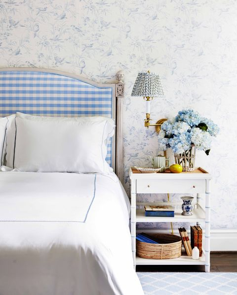 Bluebell Check Bedskirt - Amy Berry Home