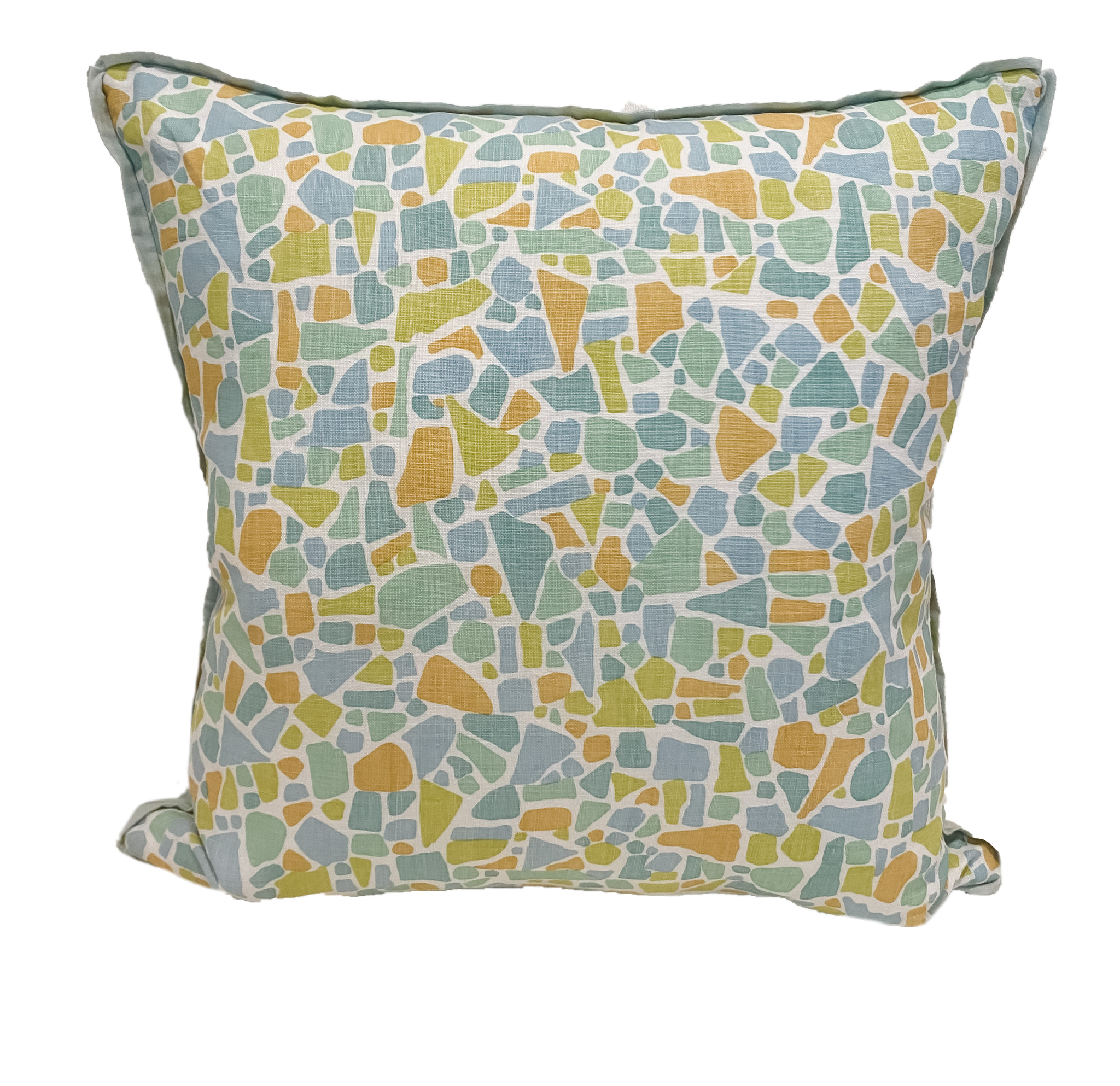 Abstract Linen Print Pillows - Amy Berry Home