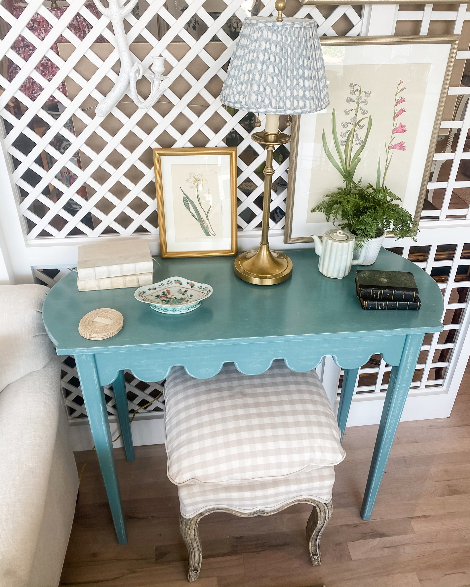 Scallop Console Table - Amy Berry Home
