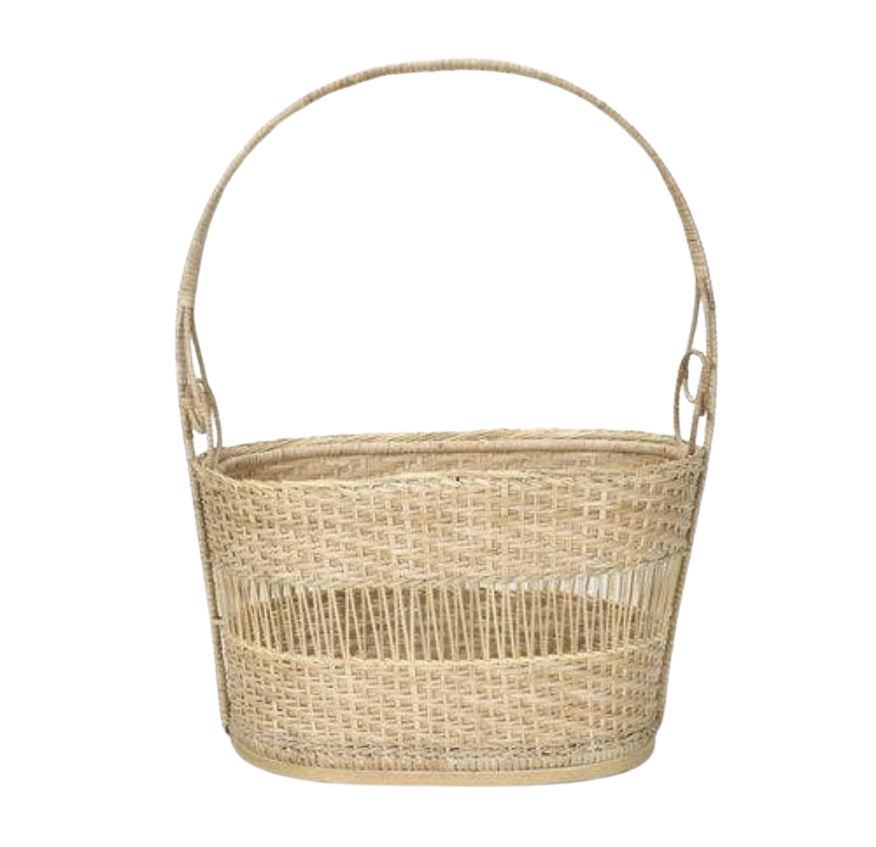 Rattan Handled Basket