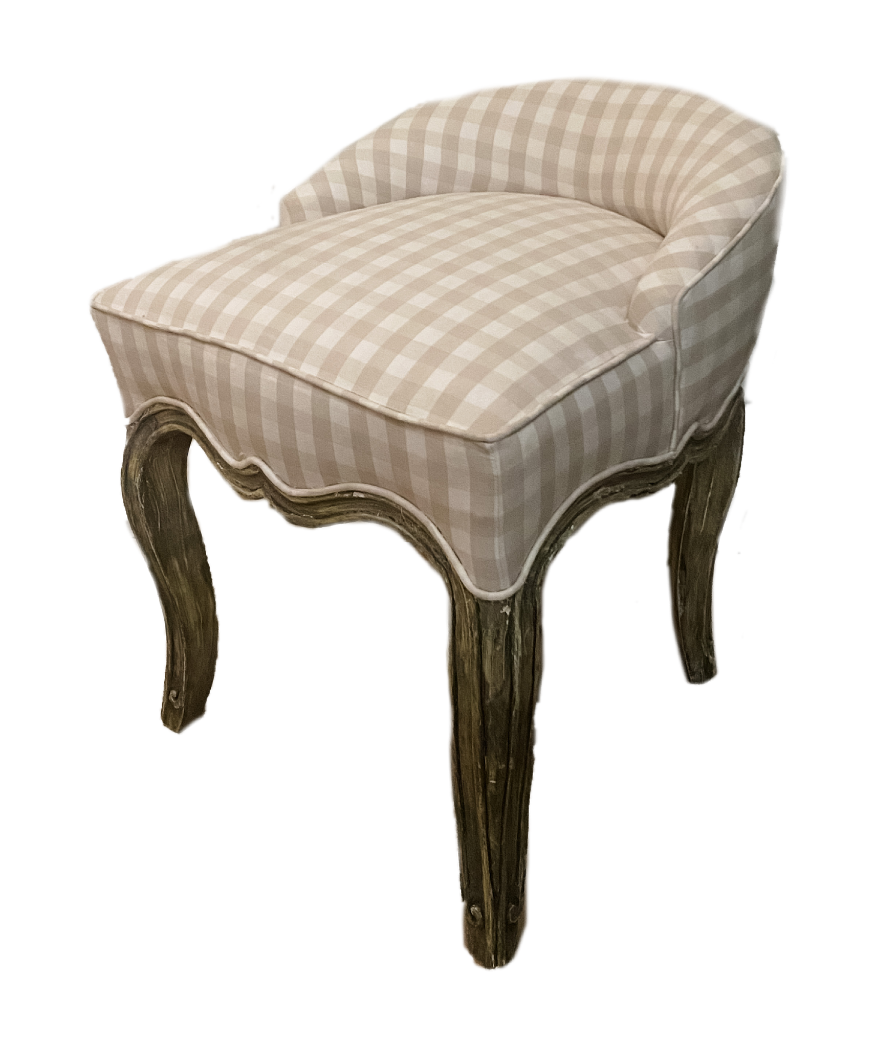 Swedish Vanity Stool - Amy Berry Home