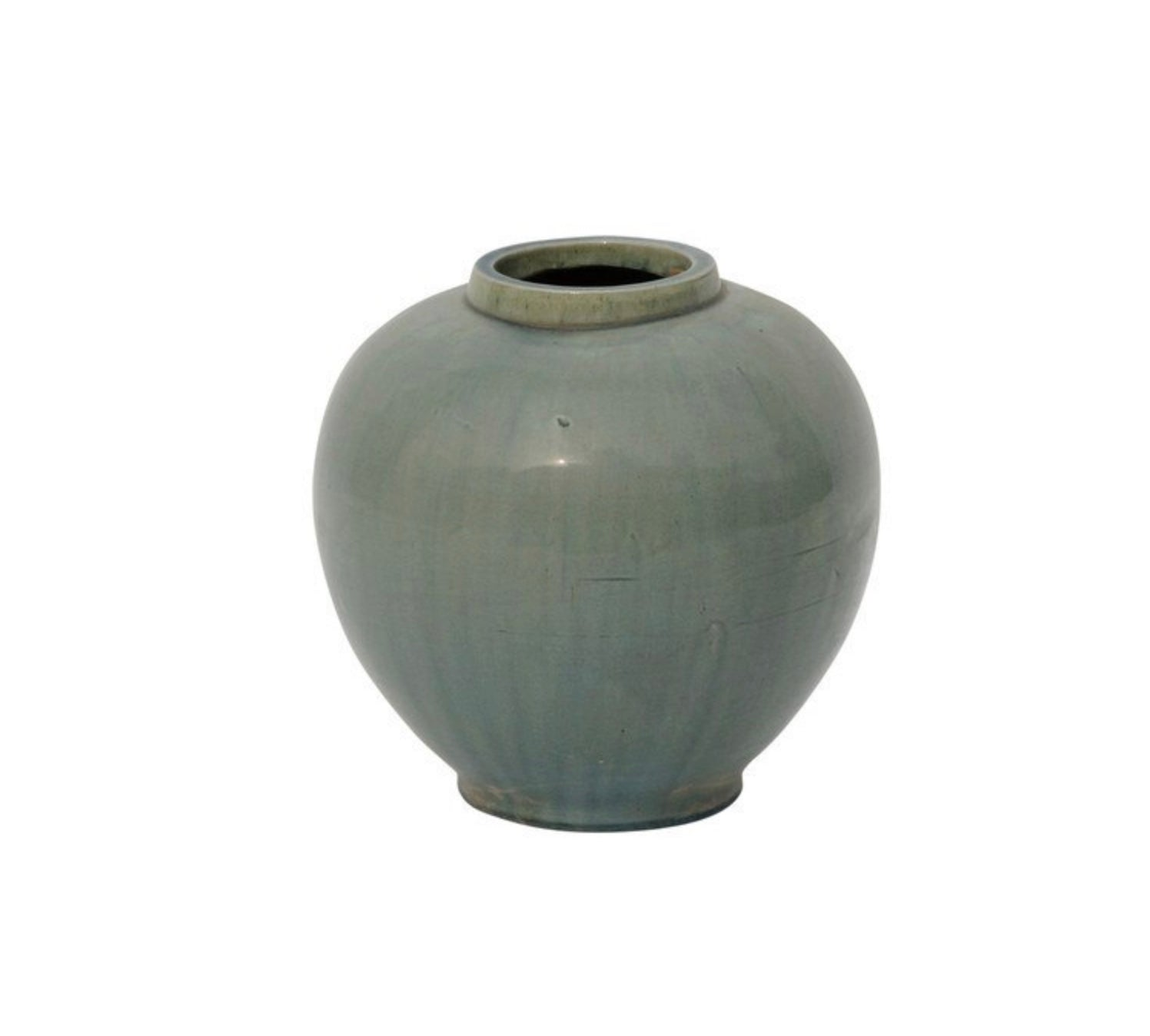 Vintage Green Apple Pot - Amy Berry Home