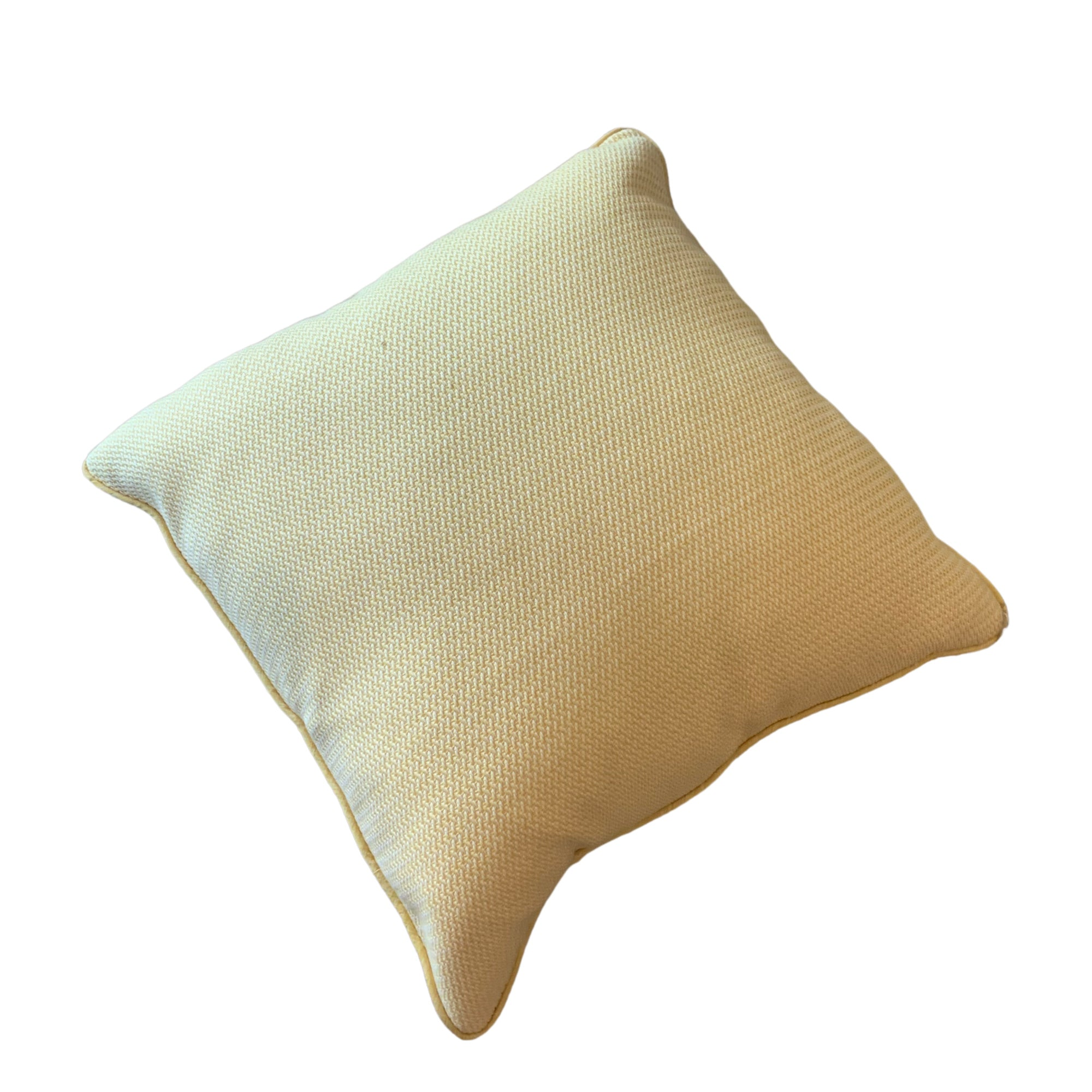 Yellow Woven Pillows