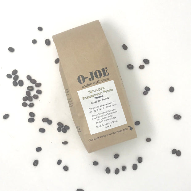 Ethiopian Shentebene Bensa • Washed Processing• Medium Roast