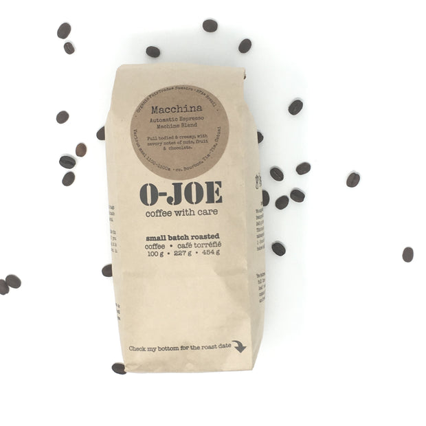 Wholesale Macchina • Medium Roast for Automatic Espresso Machines (Non-oily)