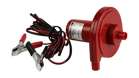 Bravo Air Inflator with Electric / Battery post clip adapter for Inflatable Fender Kit