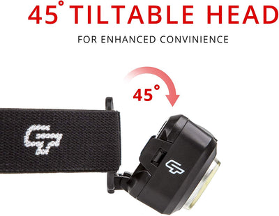 CTF-101 Head Lamp USB Rechargeable