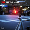 CRUISER - USB Rechargeable Bike Light Set