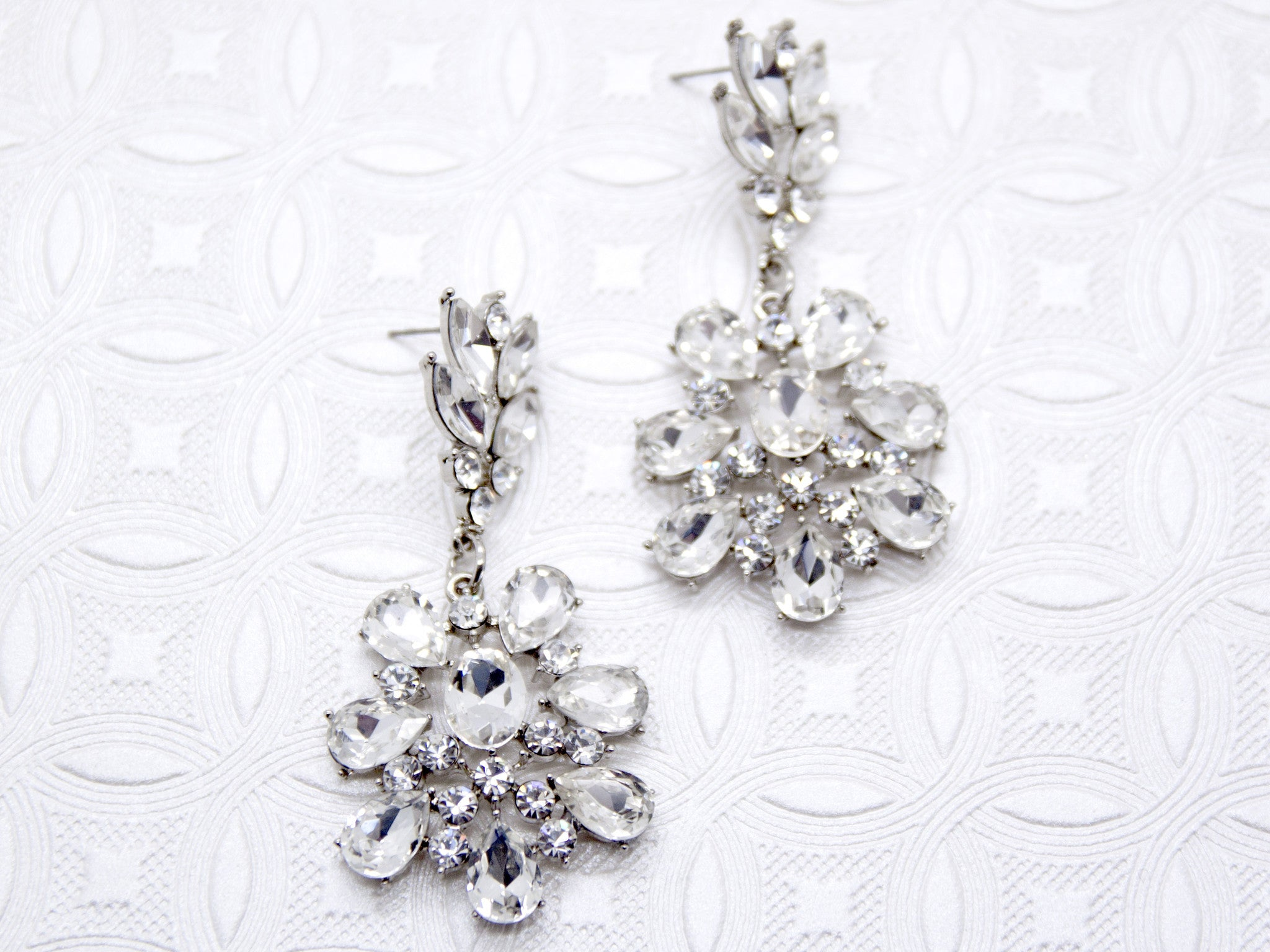 Bridal earrings tagged chandelier bridal theory crystal chandelier earrings arubaitofo Images