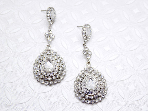 Claire Crystal Earrings