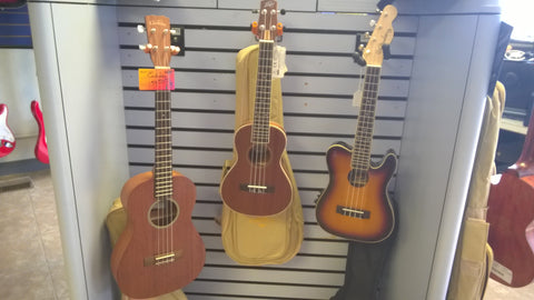 Ukulele's Great Variety starting at $49.99!