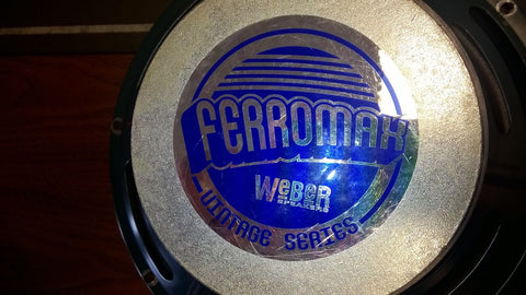 Weber 12F150 Ferromax Speakers