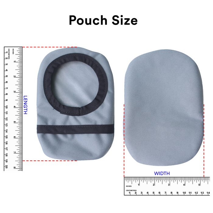 Black Ostomy Belt