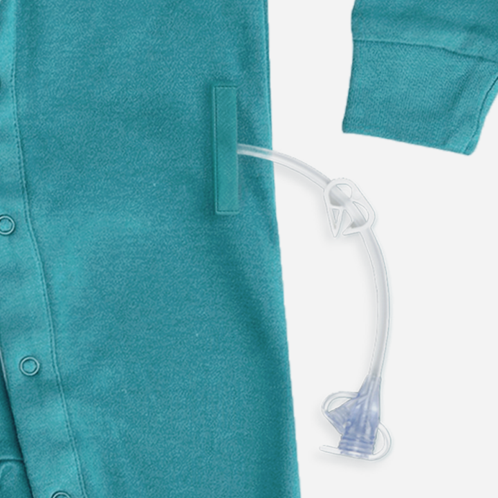 Mediterranean Blue Tube + Cath Access Pajamas