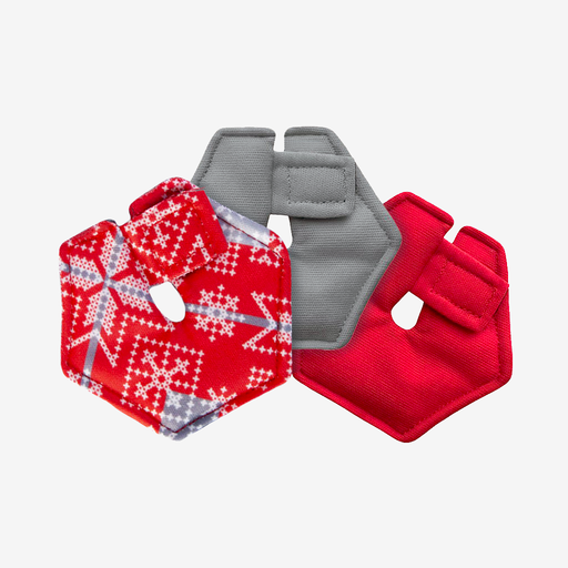 Holiday Print G-Tube + Cath Pads (Set of 3)
