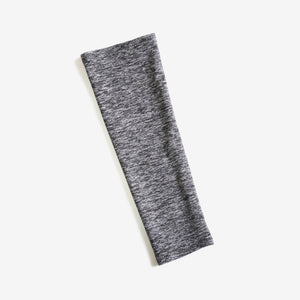 Soft, moisture wicking sleeves protect against sun exposure, available in charcoal