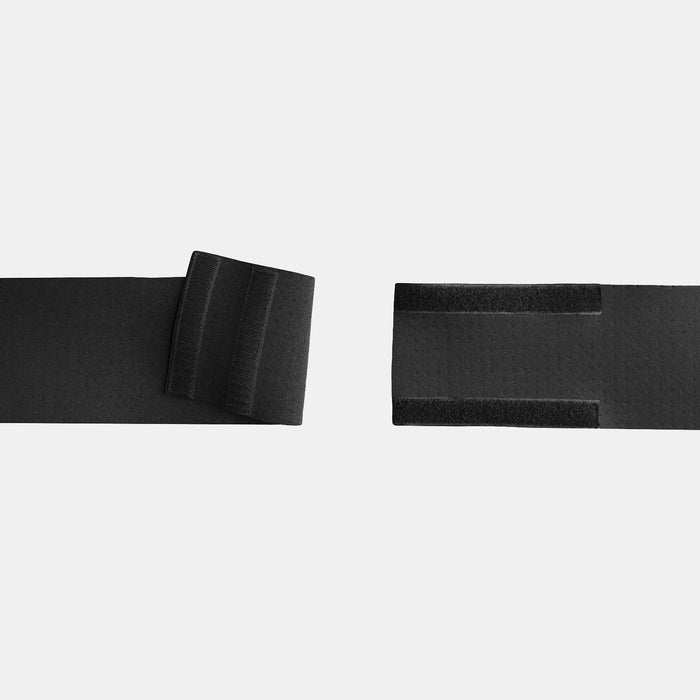 Velcro strap closure for ostomy belt