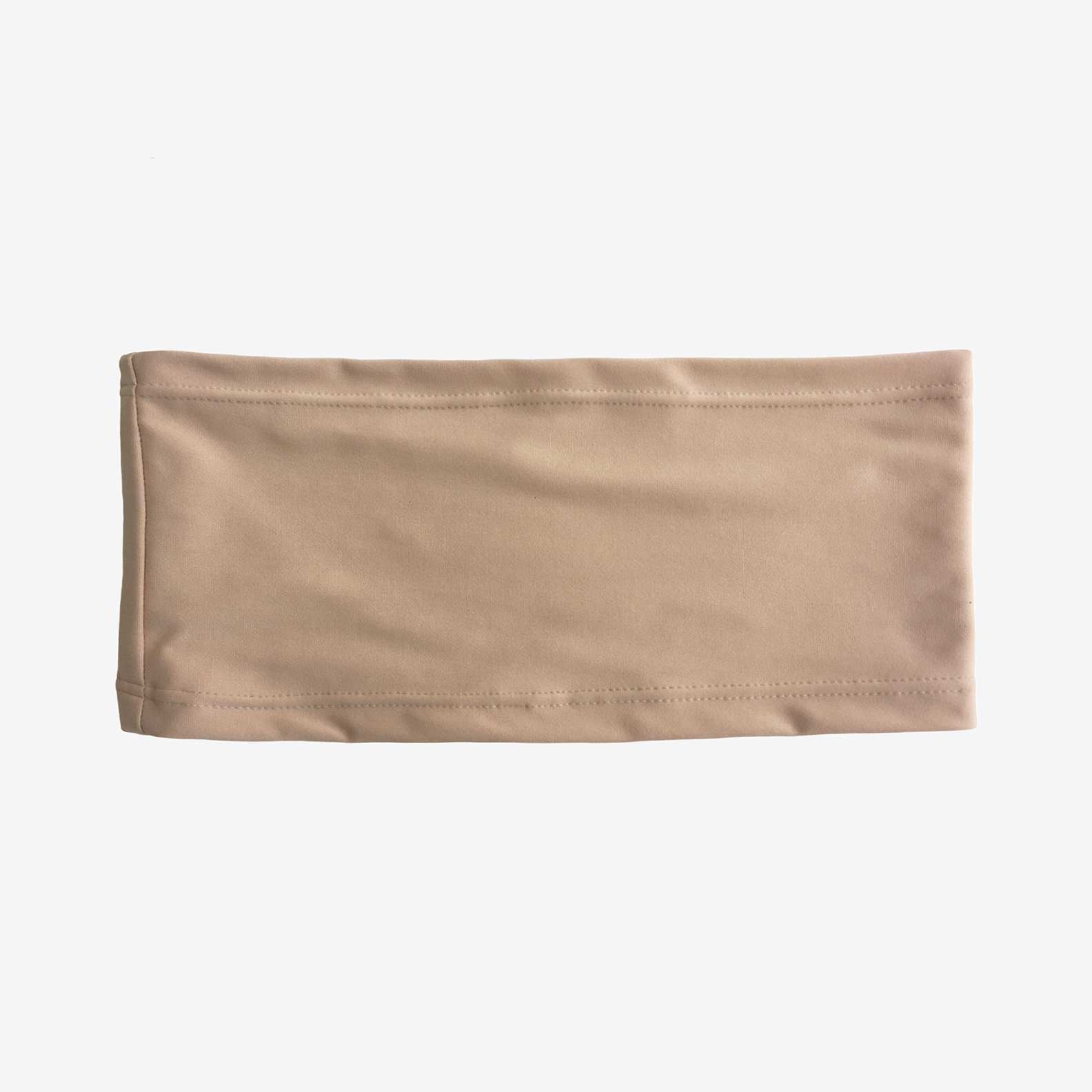 Beige stretch waistband with mild compression for ostomy, recovery
