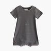 Tee shirt Wonsie adaptive bodysuit with g-tube access, made from soft cotton fabric