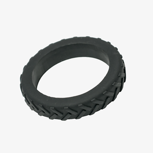 Tire bracelet for chewing needs in teen and adult size