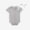 Gray Tube + Cath Snap Access Bodysuit (Shortsleeve)