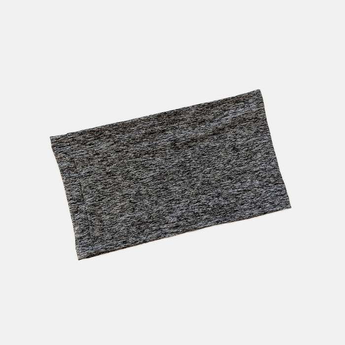 Ostomy waistband comes in heathered charcoal color