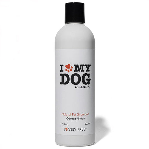 Natural Dog Shampoo Oatmeal & Neem - Lovely Fresh - 1