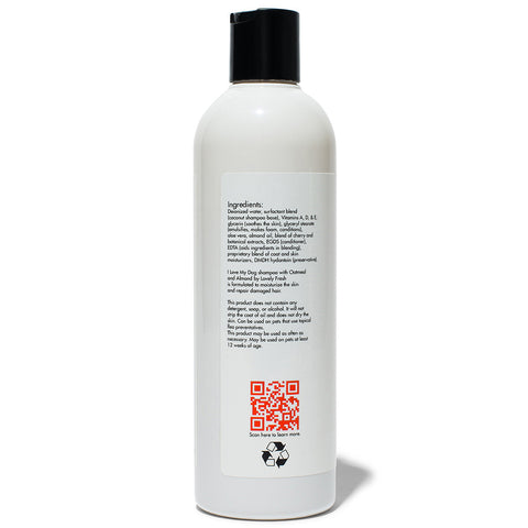 Natural Dog Shampoo Oatmeal & Almond - Lovely Fresh - 3