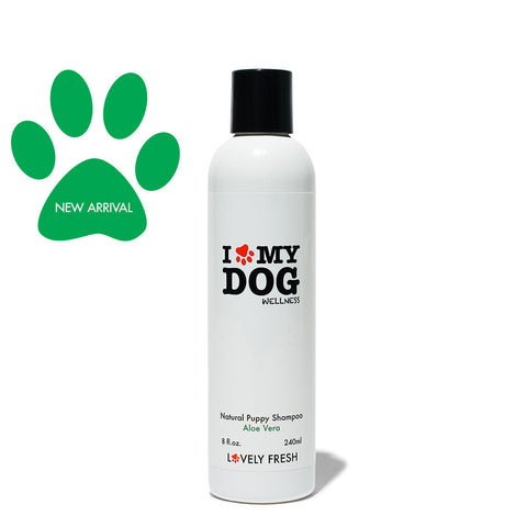 Natural Puppy Shampoo Aloe Vera - Lovely Fresh - 2