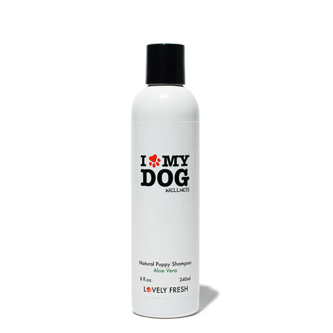 Natural Puppy Shampoo Aloe Vera - Lovely Fresh - 1