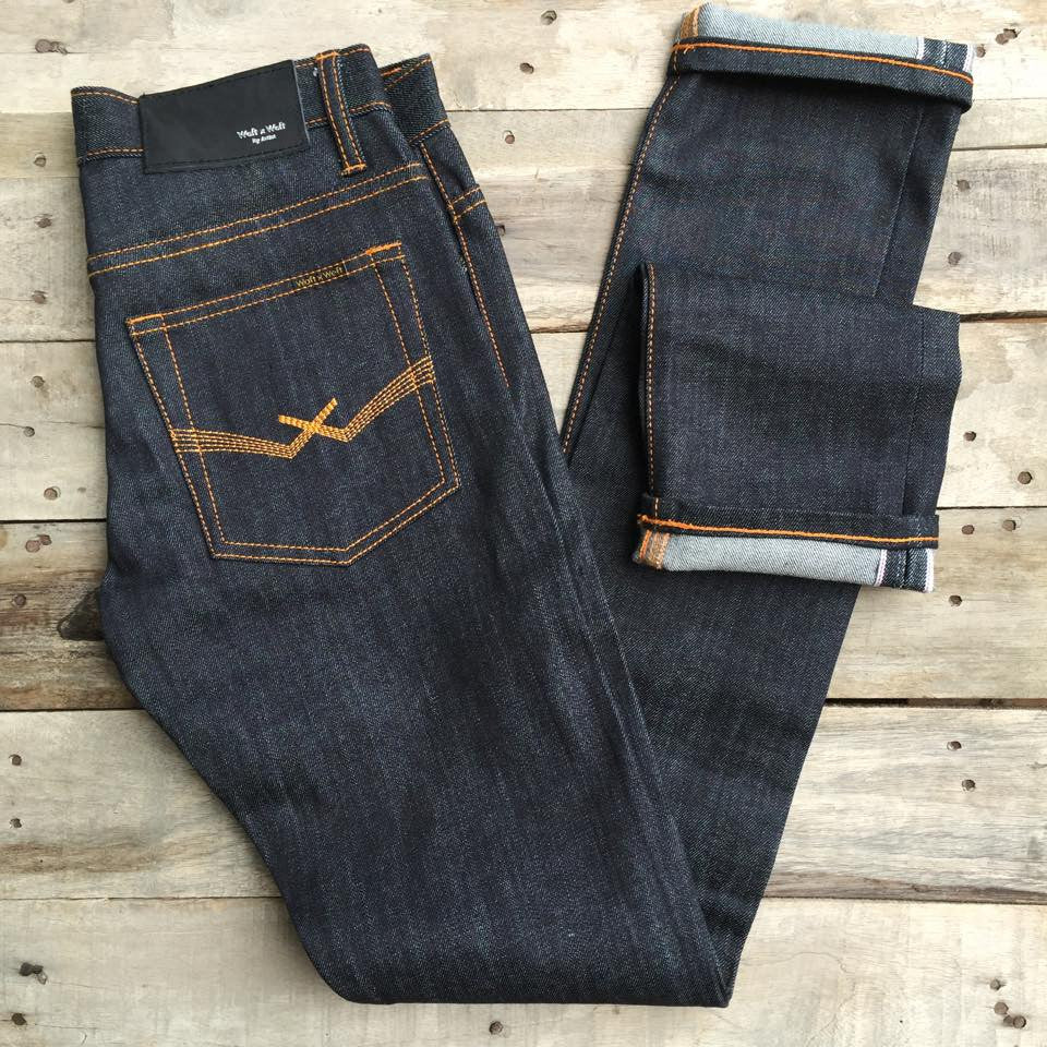 MIDNIGHT BLUE SELVEDGE(Raw)