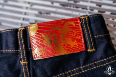 FIRE ROOSTER SHORTS (Rinsed)