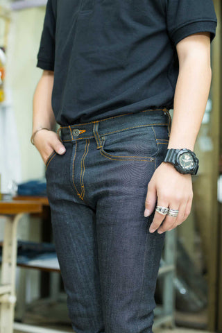 DARK BLUE SELVEDGE(Raw)