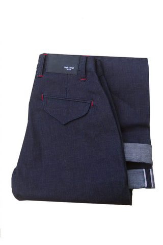 MIDNIGHT BROKEN TWILL (CHINO)