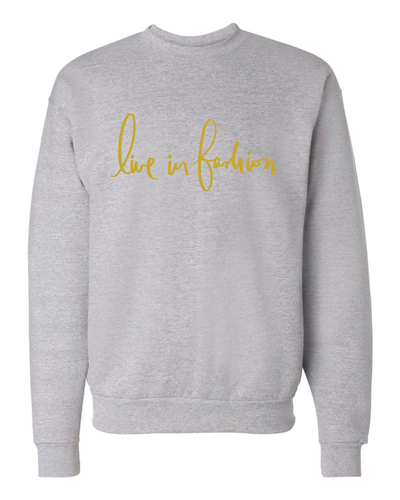 LIF SWEATSHIRT - GALORE GREY