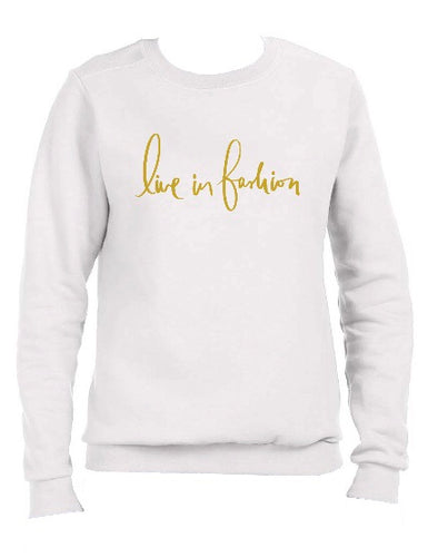 LIF SWEATSHIRT - WHITE