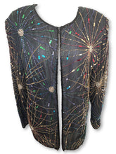 VINTAGE FIREWORKS COLORFUL JACKET