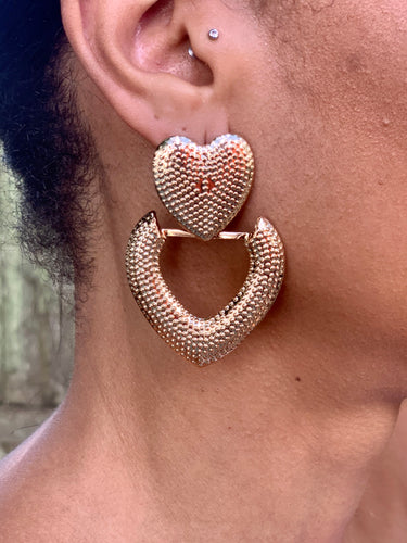 LOVE IN EARRINGS