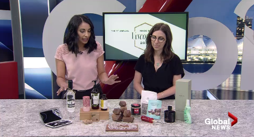 Made in Vancouver Awards KINeSYS Sunscreen on Global News at Noon