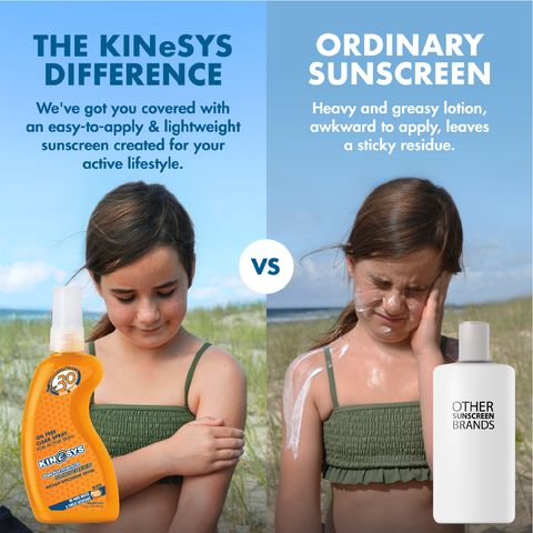 Best Sunscreen for Kids KINeSYS SPF30 Sunscreen Oil and Alcohol Free