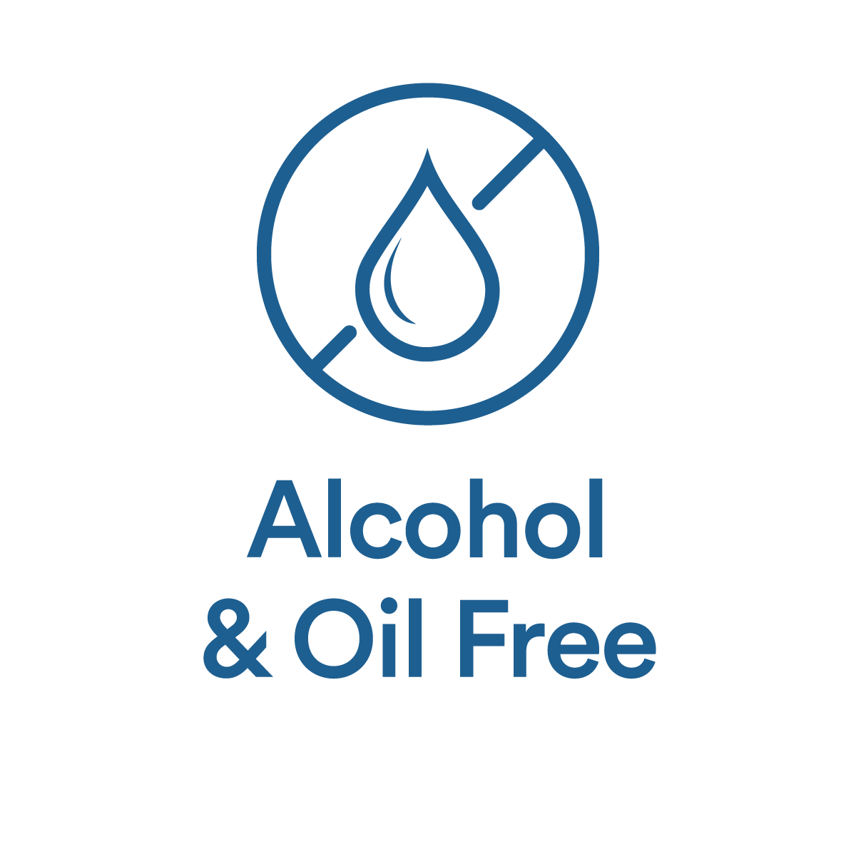 Alcohol and Oil Free