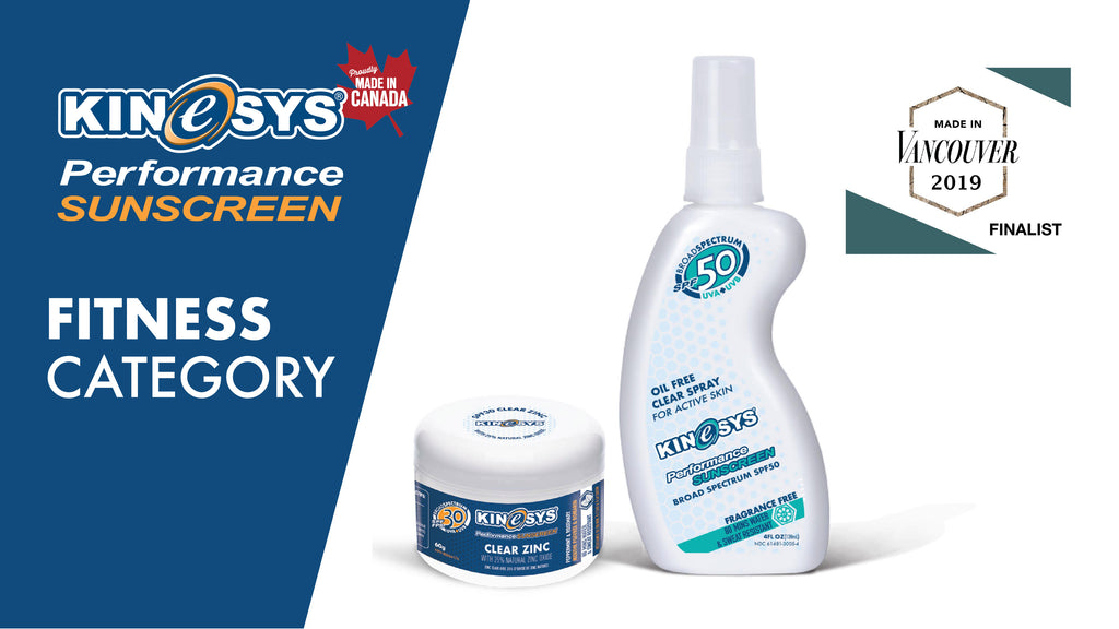 KINeSYS Sunscreen Made in Vancouver